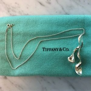 Tiffany & Co Frank Gehry Double Orchid Necklace